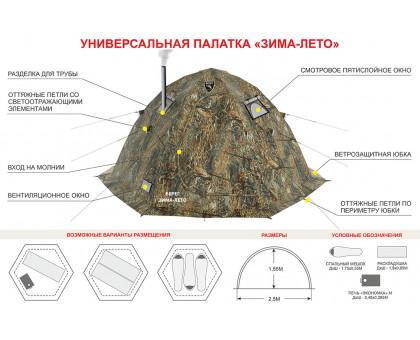 Зимняя палатка Берег Зима-Лето