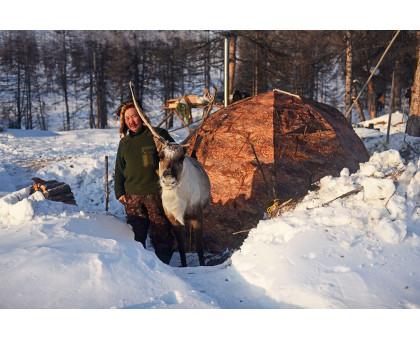 Зимняя палатка Берег УП-2 (каркас 10 мм.)