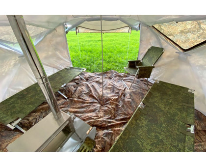Зимняя палатка Берег Куб Пентагон двухслойная